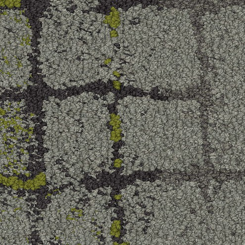 Interface Moss in Stone 8340002 Slate Edge